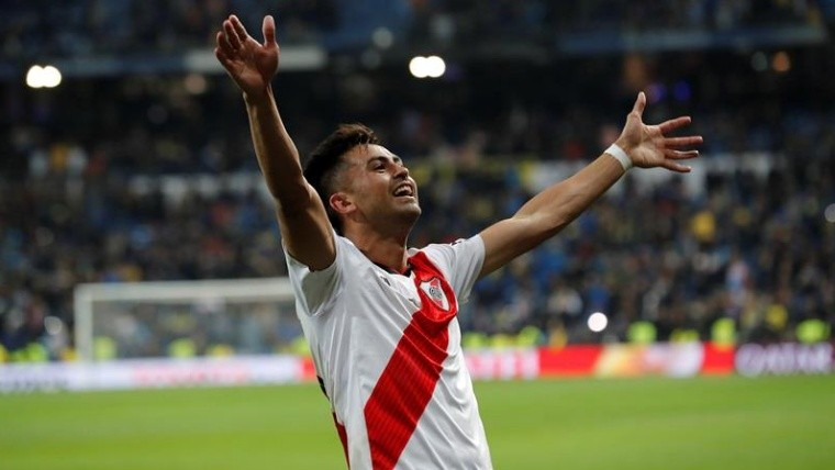 En medio de los festejos, Pity Martínez anunció que deja River