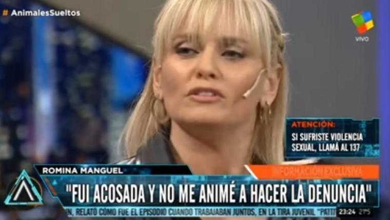 Romina Manguel contó que fue acosada en Animales Sueltos