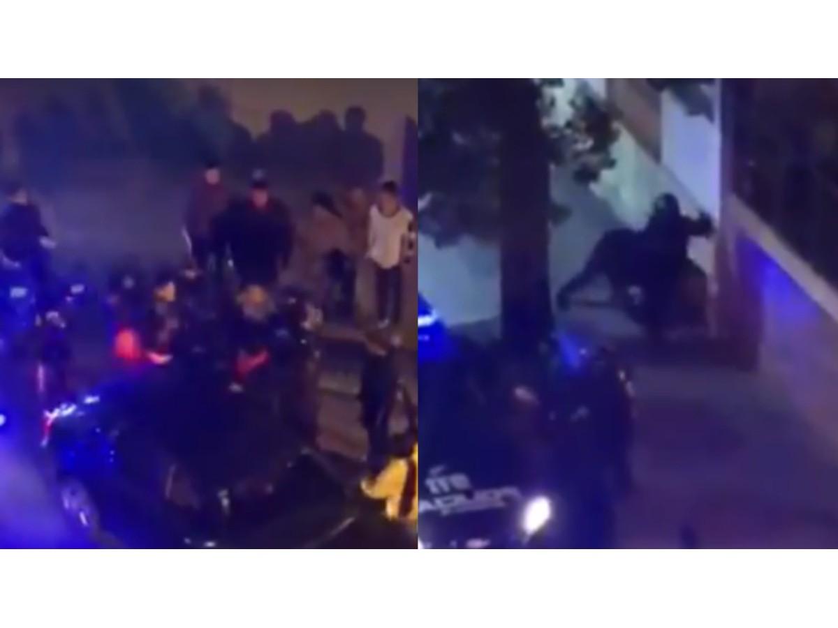 Video: la policía y familiares del joven asesinado en zona sur a los golpes