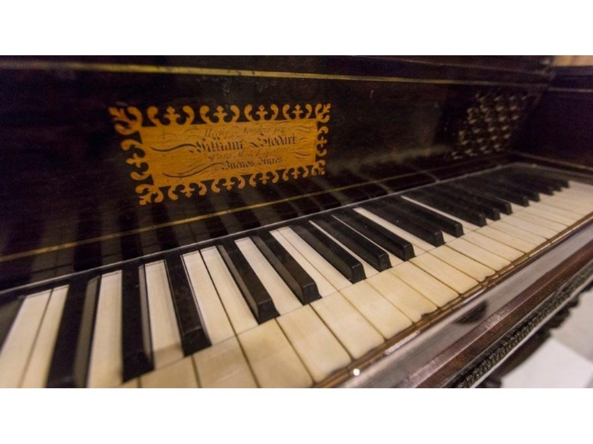 Música de la Revolución: volverá a sonar el piano de Mariquita Sánchez de Thompson