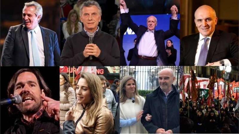 Los candidatos y las últimas acciones de campaña.