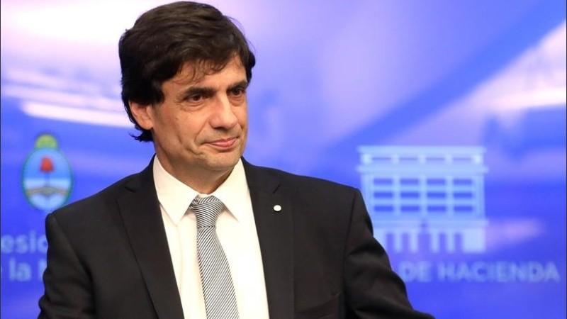 El ministro de Hacienda en conferencia de prensa este miércoles.