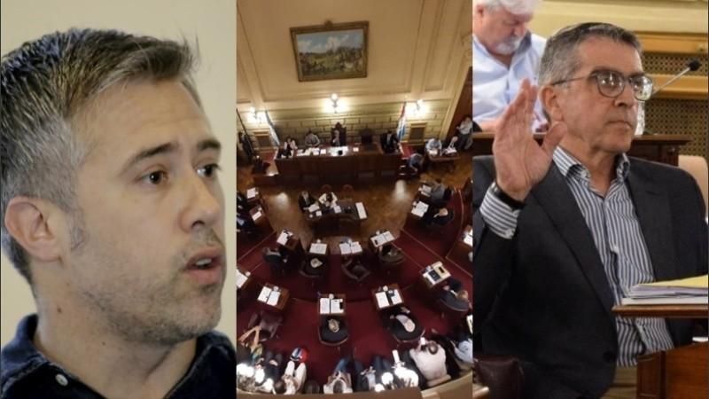 Para Busatto no es un buen presupuesto y el senador Traferri criticó a