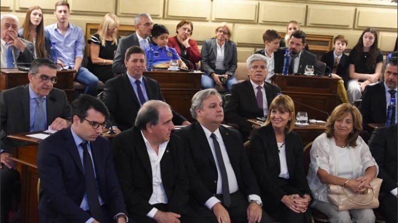 La vicegobernadora Alejandra Rodenas será la presidenta del Senado santafesino.