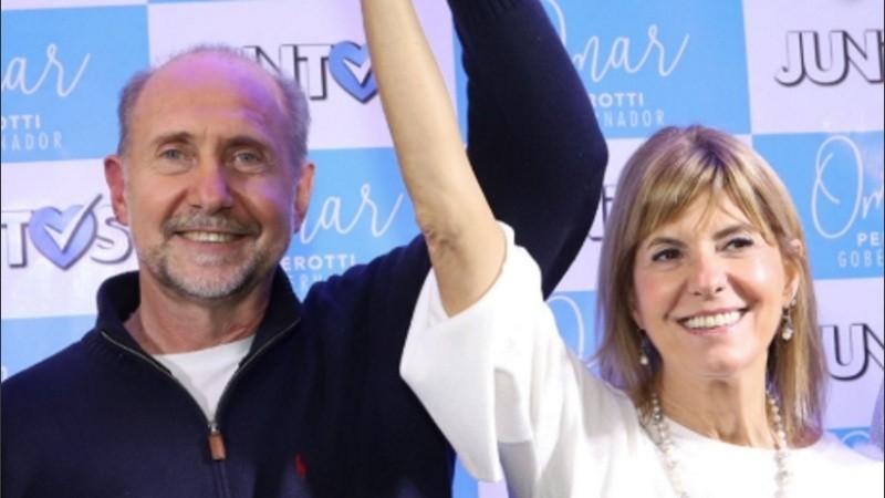 Omar Perotti y Alejandra Rodenas ya tienen gabinete.