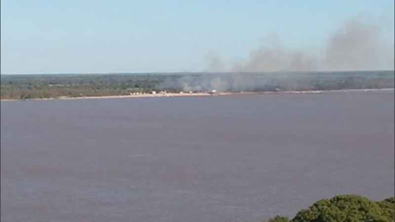 Varios focos de incendio en las islas y se multiplicaban quejas ...