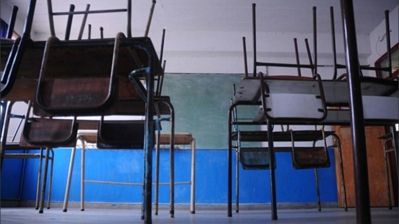 En Rosario las aulas por ahora seguirán vacías.