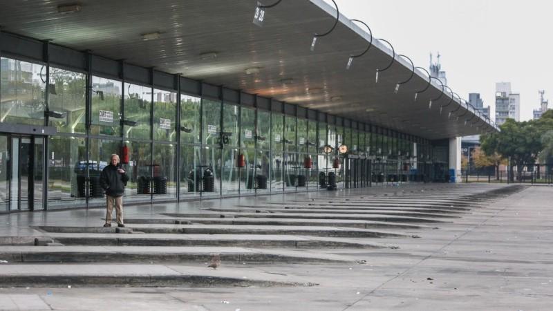La terminal quedará vacía el fin de semana largo.