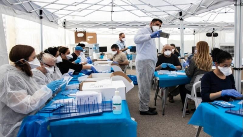 El registro de voluntarios está a cargo de los gobiernos de las respectivas provincias.