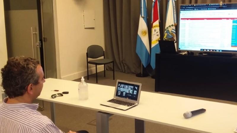 El Consejo de Gestión de Riesgo funcionó por videoconferencia.