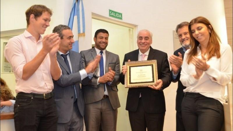 Díaz fue declarado Ciudadano Distinguido por el Concejo en abril de 2019.