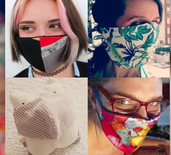 Hechos en Rosario: mascarillas de diseño para hacerle frente al coronavirus