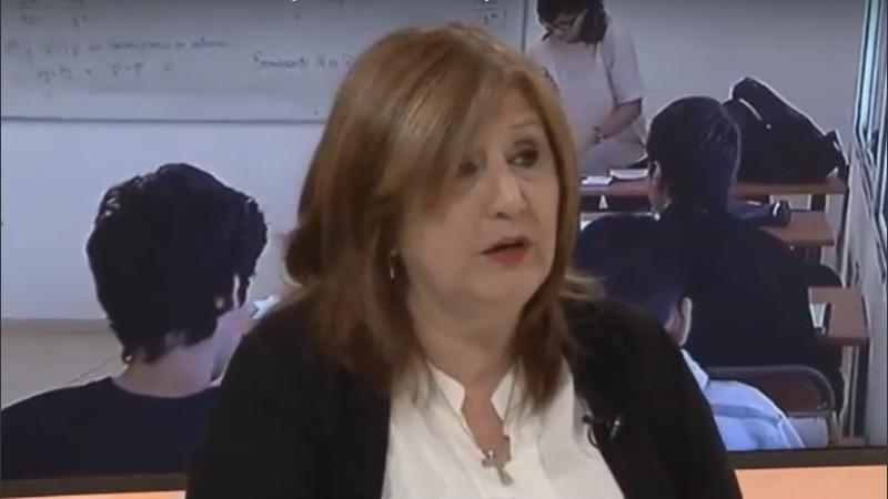 La ministra de Educación de Santa Fe, Adriana Cantero.