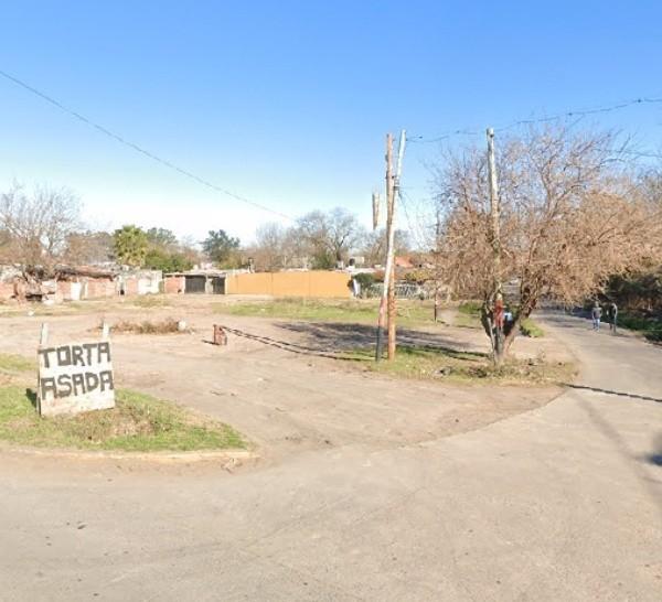 La zona en la que ocurrió el asesinato.