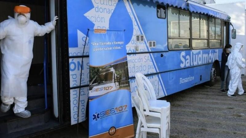 El puesto móvil ubicado en Génova y Fraga.