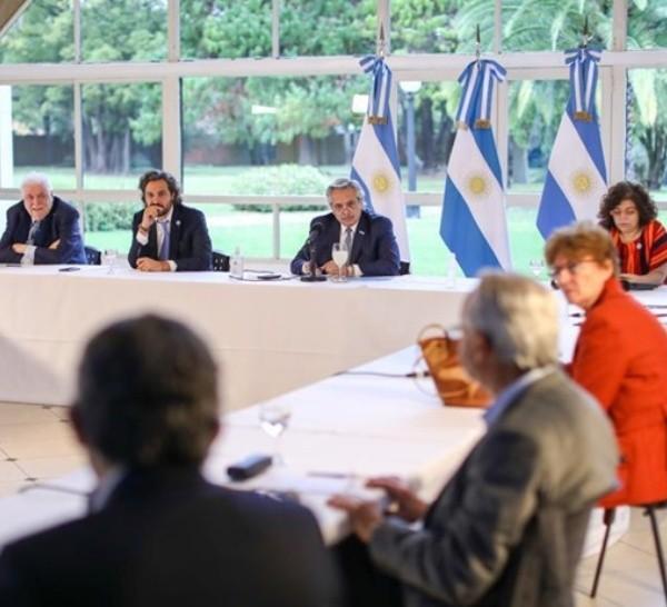 El presidente inició una ronda de reuniones este viernes.