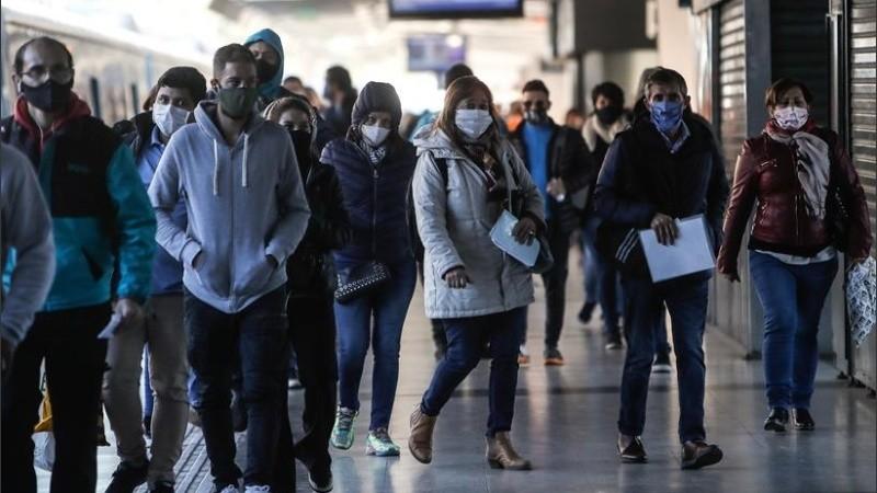 Los casos de coronavirus volvieron a marcar un récord en el país.