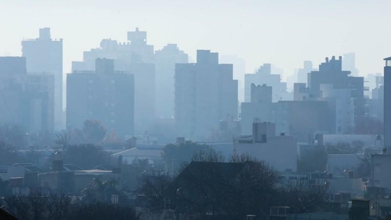 Irrespirable: otro día con mucho humo sobre Rosario por las quemas en las  islas   Rosario3