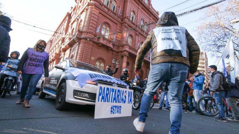 Los municipales de Rosario realizarán una nueva medida de fuerza.