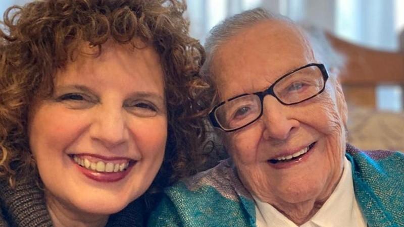 Lea Enriqueta y su hija Marilyn, felices de estar juntas.
