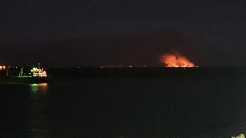 Nuevos focos de incendios comenzaron a observarse este sábado desde Rosario..