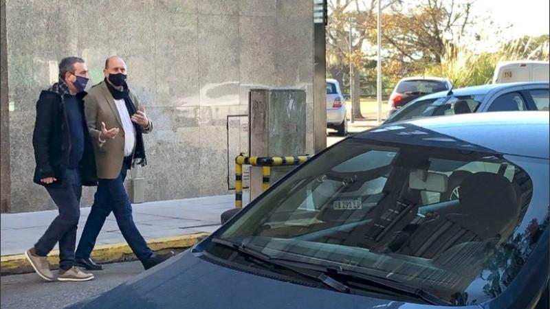 Perotti y Javkin viajan a Buenos Aires para la firma del convenio por seguridad.