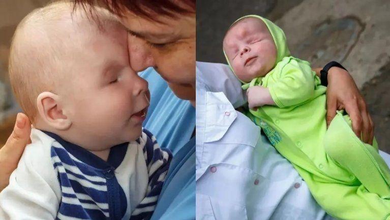 No para de sonreír: la felicidad del bebé que nació sin ojos tras ser adoptado | Rosario3