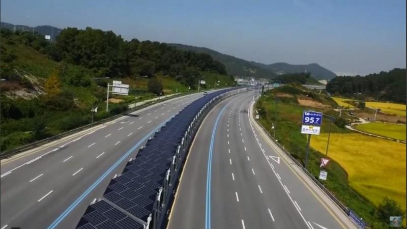 Video Corea Del Sur Tiene Una Autopista Con Paneles