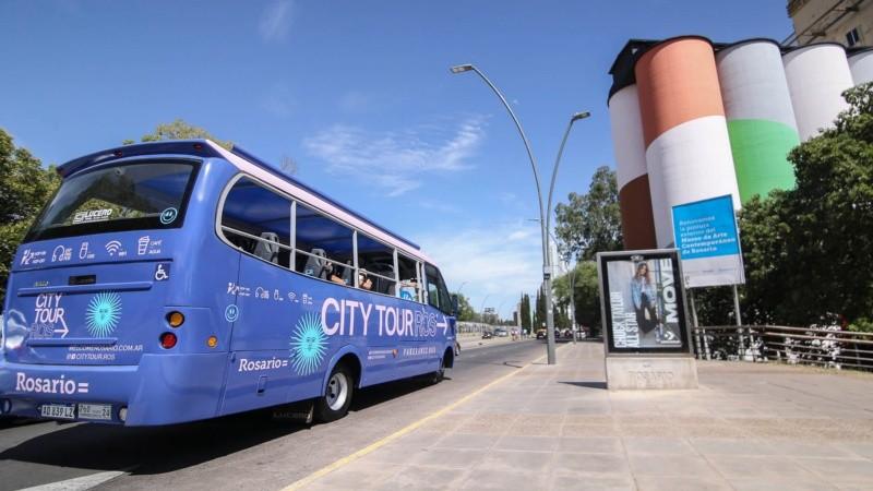 Vuelta turística por Rosario