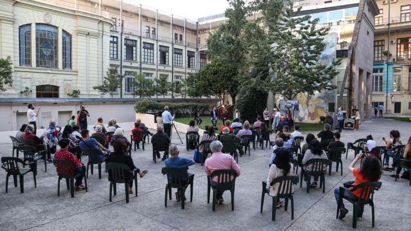 La ceremonia fue en Gobernación, donde además funcionó un centro clandestino de detención.
