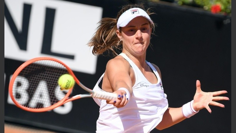 Nadia Podoroska se impuso en los tres enfrentamientos que tuvo con jugadoras del top ten de la ATP en su carrera.