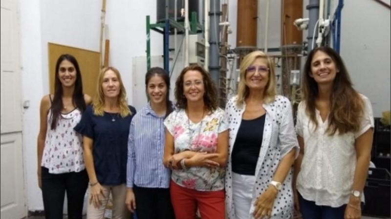 El equipo de investigadoras del Instituto de Biología Molecular y Celular de Rosario (IBR, Conicet-UNR).