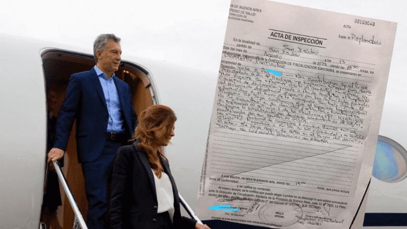 Macri volvió de Europa el lunes pasado y debía realizar un aislamiento de siete días.