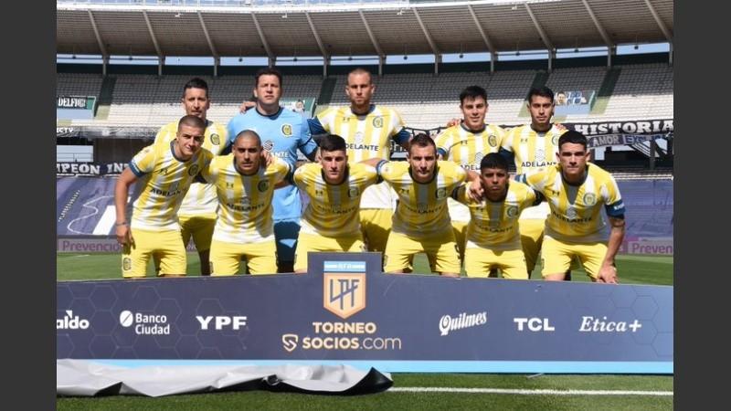 El equipo canalla que jugó en Córdoba.