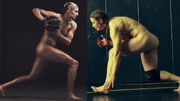 Serena Williams y otras deportistas desnudas