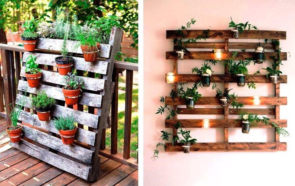 las plantas necesitan luz solar durante gran parte del da y en caso de que escojas colocarlas sobre una pared comprob que est protegida contra cualquier - Jardines Verticales Caseros