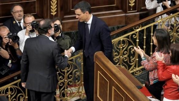 La toma de posesión de Pedro Sánchez, en imágenes