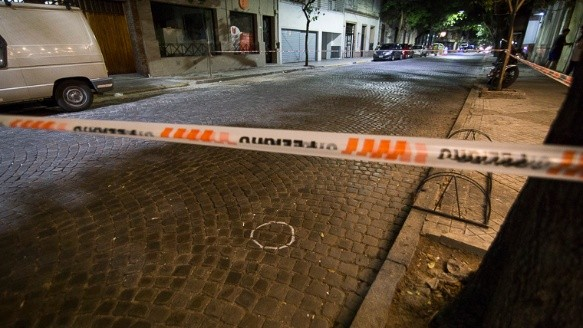 El balazo se produjo en Zeballos entre Sarmiento y Mitre. (Alan Monzón/Rosario3.com