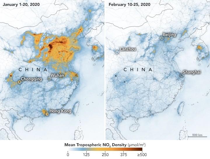 En China mejora la calidad del aire