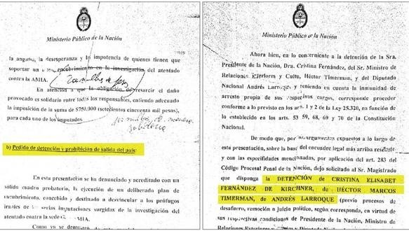 Documento Nisman